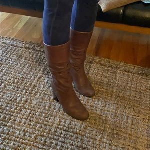 Bandolino slouch boots size 8
